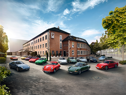 Porsche Classic Serviceangebote.
