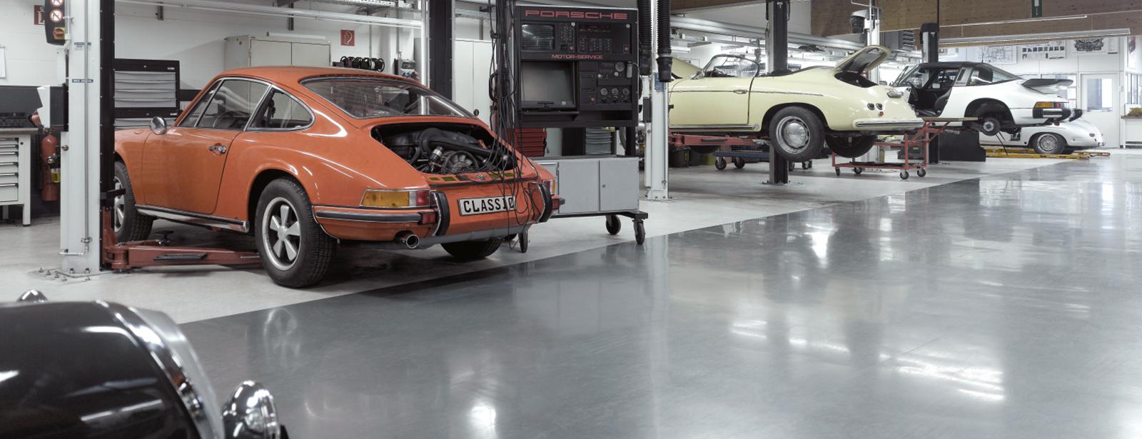 Porsche Classic Partner | Serviceangebote