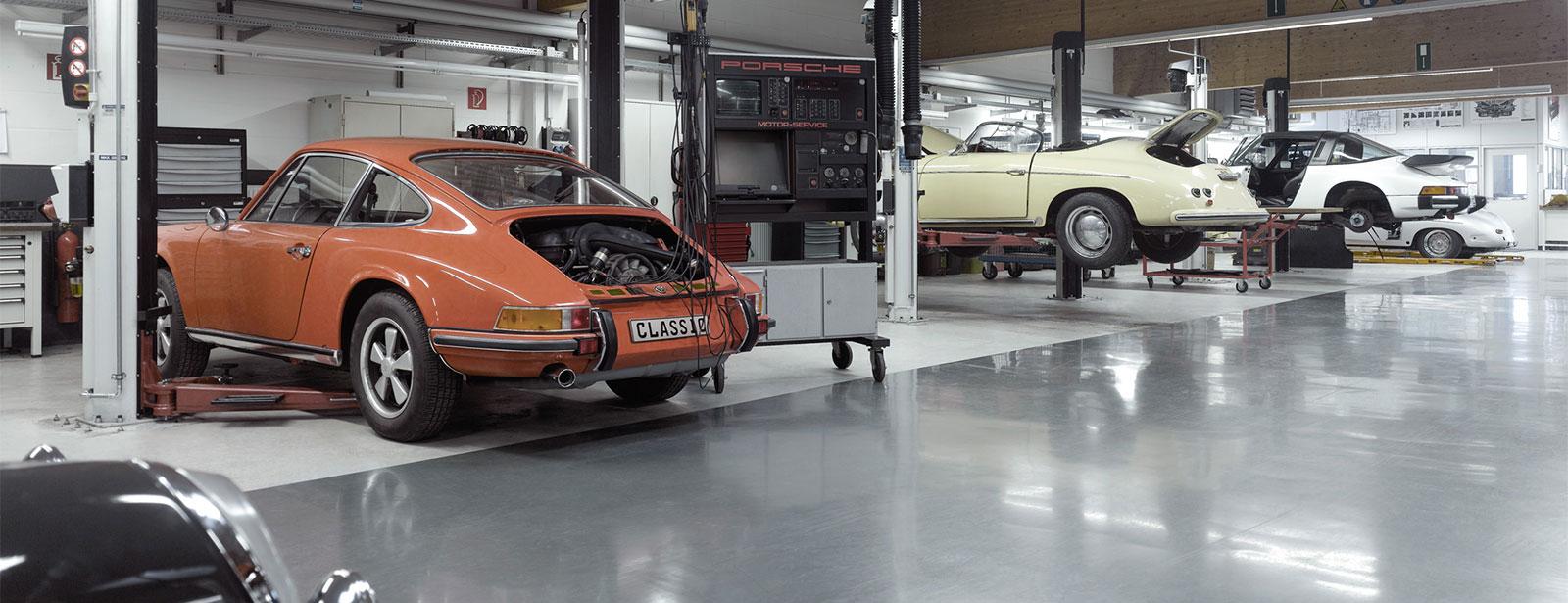Porsche Classic Partner | Wartungsangebote
